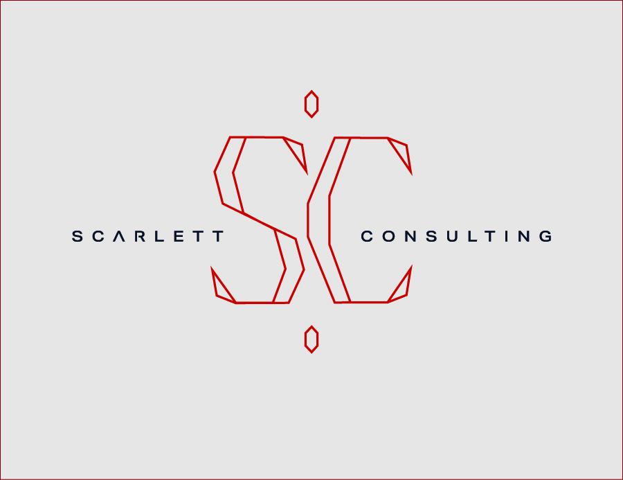 סקרלט ייעוץ עיצוב לוגו אפרת אור